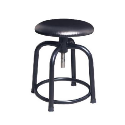 H&D 瑞士308螺旋升降黑皮黑腳椅