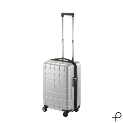 【日本製造PROTECA行李箱】開輝系列21吋-360°自由取物行李箱(銀色)