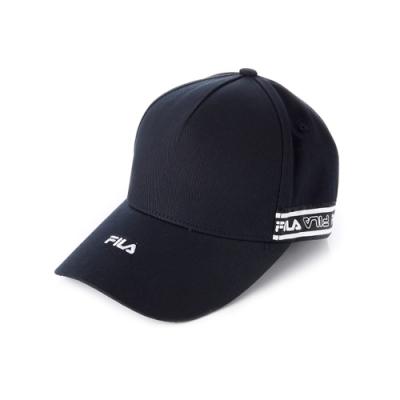 FILA 時尚LOGO帽-黑 HTV-1101-BK