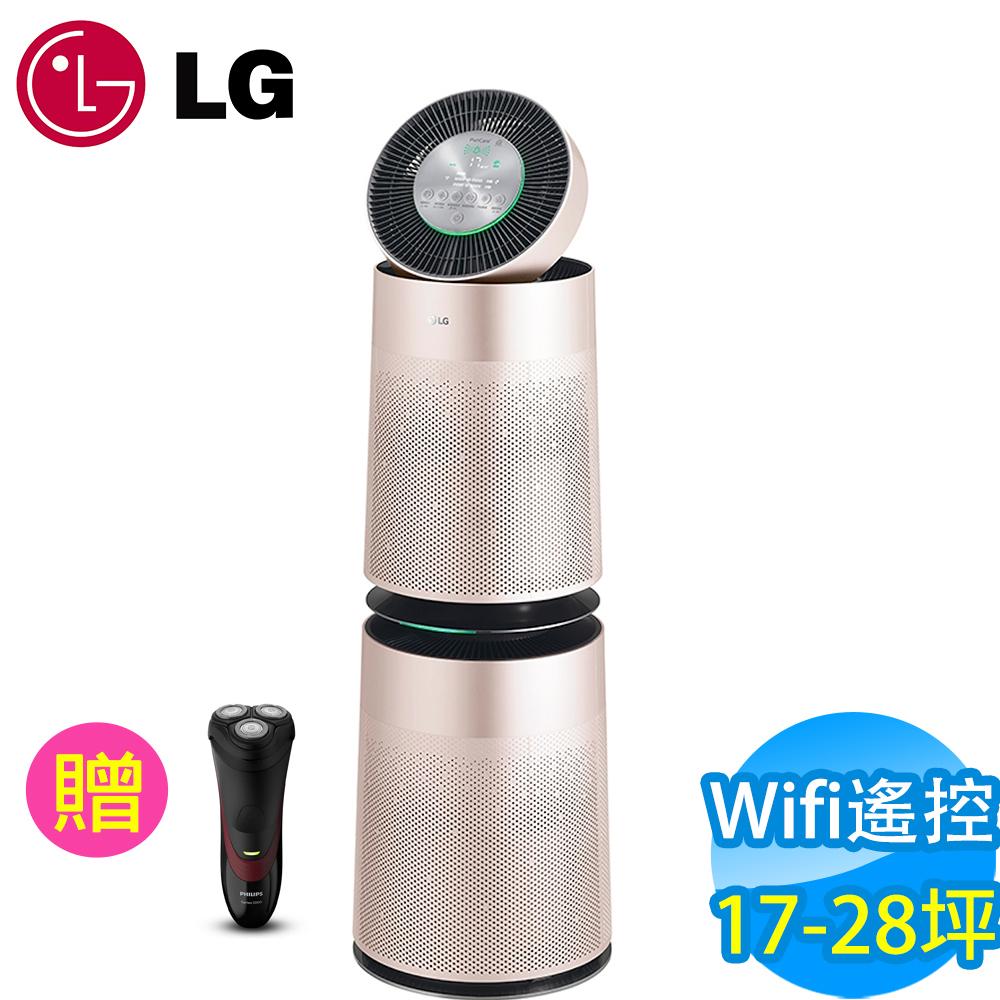 LG樂金 17-28坪 Wifi遙控PuriCare 360°雙層空氣清淨機 AS951DPT0