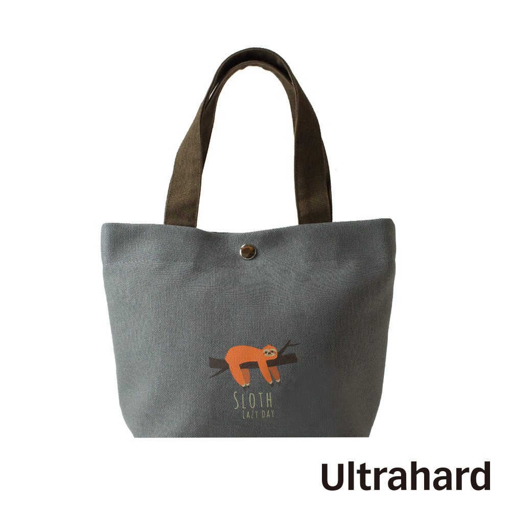 Ultrahard 竹林七閒小提袋- 樹懶(灰)