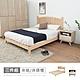 時尚屋 丹麥床片型3件組3.5尺單大-床片+床架+床頭櫃-白(不含床墊) product thumbnail 2