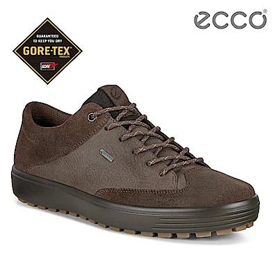 ECCO SOFT 7 TRED M 街頭風格防水款休閒鞋 男-棕