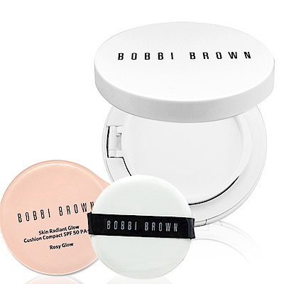 BOBBI BROWN 彷若裸膚氣墊隔離霜#Rosy Glow 13g+粉盒