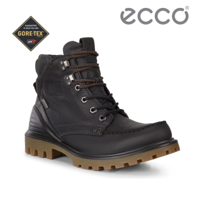 ECCO TRED TRAY M 趣闖英式工裝高筒防水靴 男-黑