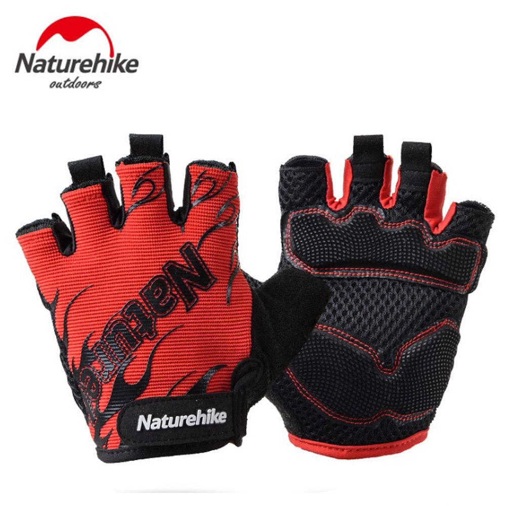 【Naturehike】抗震防滑耐磨半指騎行手套 運動手套