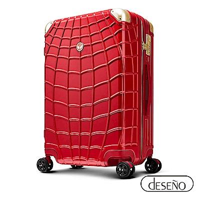 Marvel 復仇者聯盟系列 29吋新型拉鍊行李箱-紅蜘蛛人