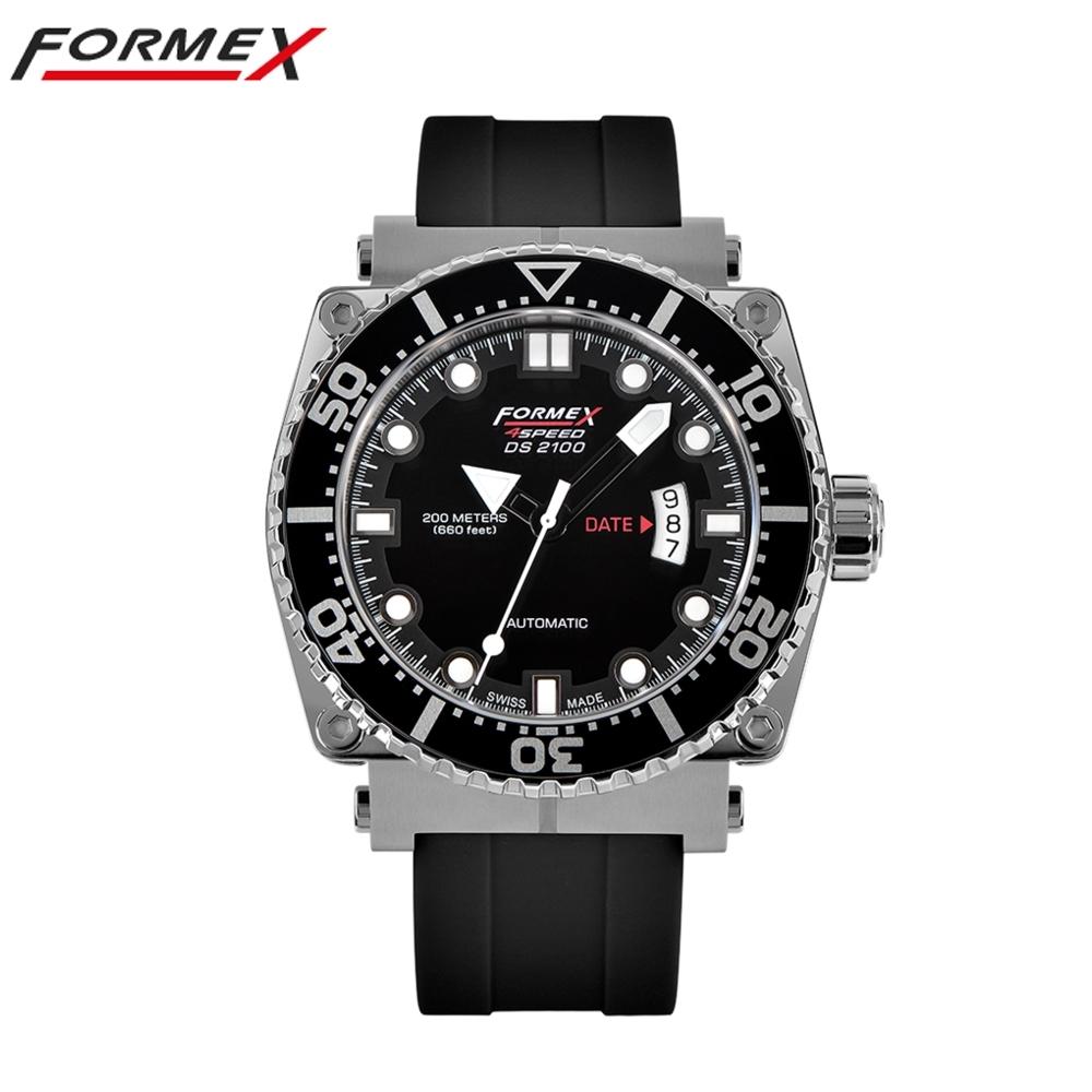 Formex 弗美克斯潛水系列自動表(黑色)2100.1.7020.910