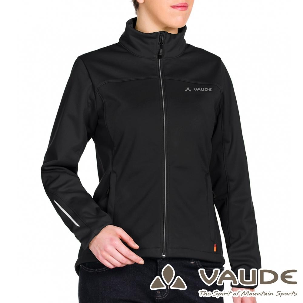 【德國 VAUDE】女款透氣防風彈性刷毛保暖休閒外套VA-06160黑
