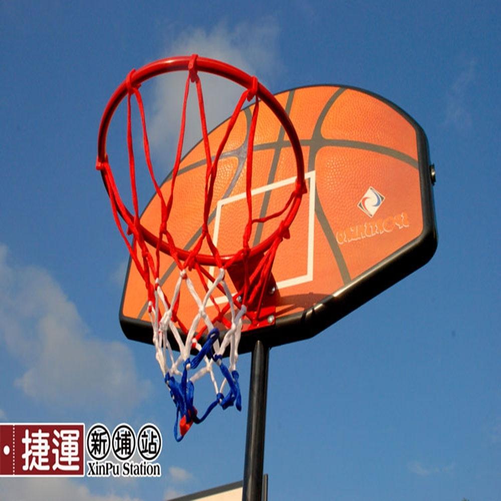 可升降兒童運動籃球架附7吋籃球.室內戶外休閒少年投籃訓練行動籃板框運動用品裝備可搭配延伸桿