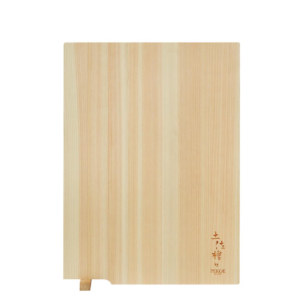PEKOE精選 日本土佐龍檜木立式砧板(小 長36cm)