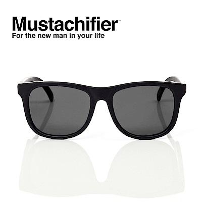 Hipsterkid 美國 抗UV時尚嬰童偏光太陽眼鏡 - 騎士黑款 (0-2歲)