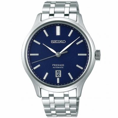 SEIKO精工 PRESAGE經典紳士機械錶(SRPD41J1)