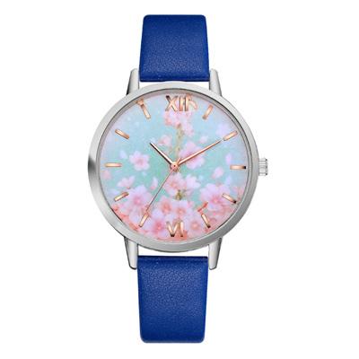 (時時樂限定)日系櫻花限定時尚簡約薄型手錶(4色任選)