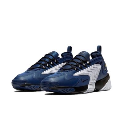 Nike 休閒鞋 Zoom 2K 運動 男鞋 海外限定 氣墊 避震 舒適 穿搭 藍 白 AO0269402