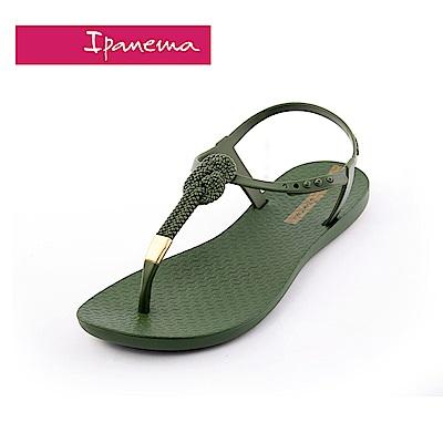 IPANEMA classic glam-unlimited系列T字涼鞋-墨綠色