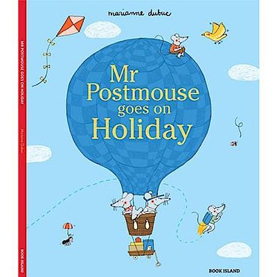 Mr Postmouse Goes On Holiday 老鼠先生放假囉!精裝繪本
