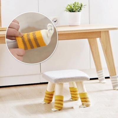 E.dot 療癒貓掌安全桌椅腳套4入組(四款選)