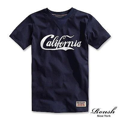 Roush California美式水洗短TEE(3色)