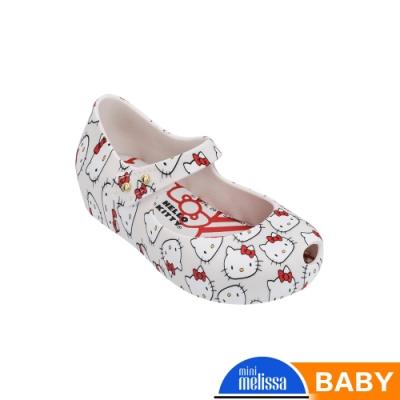 Melissa Hello Kitty國際聯名款娃娃鞋(寶寶款)-白