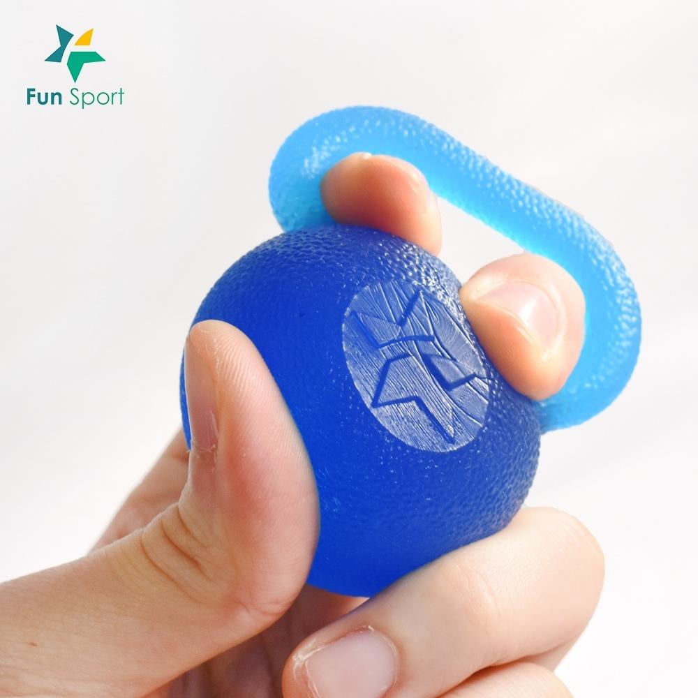 FunSport-指掌壺鈴握力球-2顆(復健球/按摩球/彈力球/舒壓球)