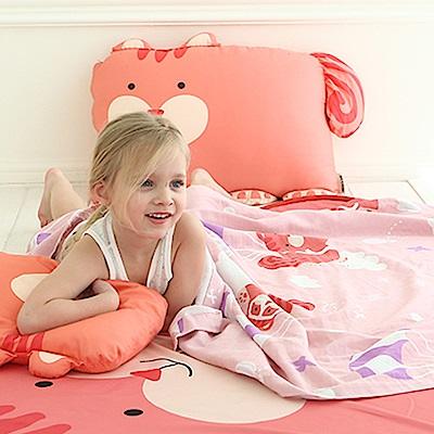 Milo&Gabby動物好朋友-超透涼LINEN空氣毯-盛夏海洋限量版(LUCY松鼠)