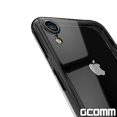 GCOMM iPhone XR 清透圓角防滑邊保護殼 Round Edge