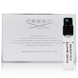 CREED PURE WHITE COLOGNE 白霓翩翩 中性淡香精2ml (法國進口)