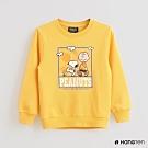 Hang Ten -童裝 -Charlie Brown-童趣印花長袖上衣-黃