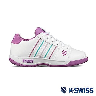 K-SWISS Eadall休閒運動鞋-女-白/紫