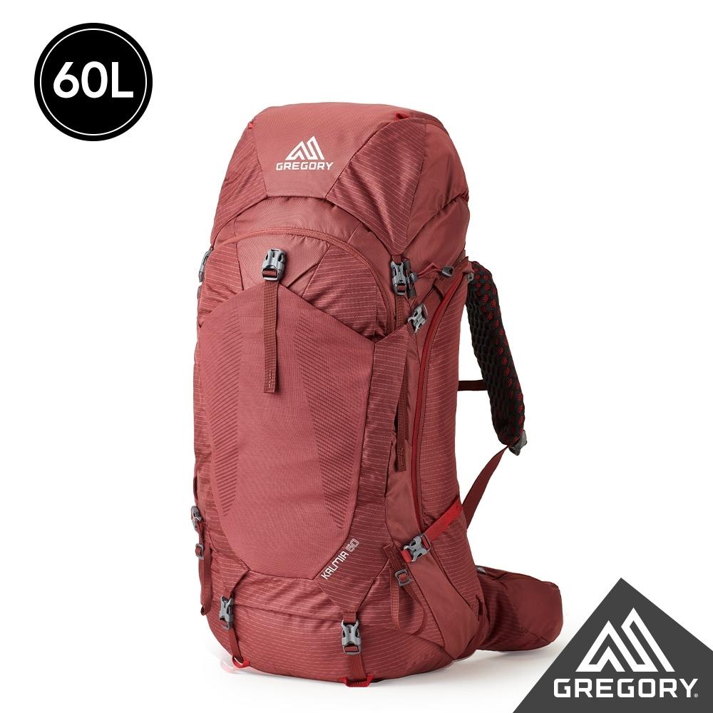 Gregory 女 60L KALMIA登山背包 波爾多紅 S/M
