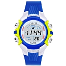 Watch-123 時尚LED七彩炫光鬧鈴兒童電子腕錶(5色任選)