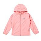 FILA KIDS 童吸濕排汗風衣外套-粉紅 5JKS-8322-PK