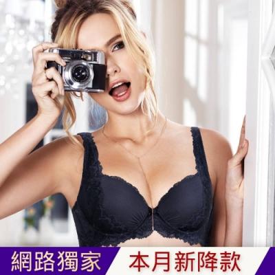 黛安芬-Premium Collection華麗美型無痕系列 B-D罩杯內衣 銀河夜空
