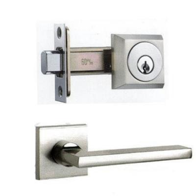 LS 162-N 日規水平鎖 60mm 木門水平把手 銀色 日式 方型 房門鎖 通道鎖