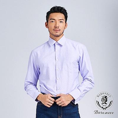 BARONECE 品味印花休閒襯衫(518462)