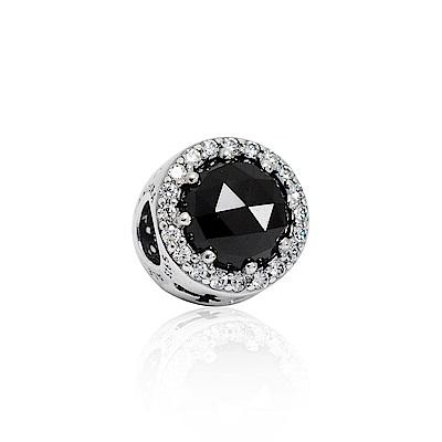 Pandora 潘朵拉 迪士尼系列黑魔法水晶鑲鋯 純銀墜飾 串珠