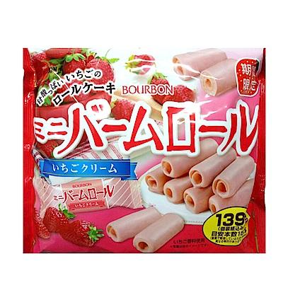 北日本 迷你草莓奶油蛋糕捲(139g)