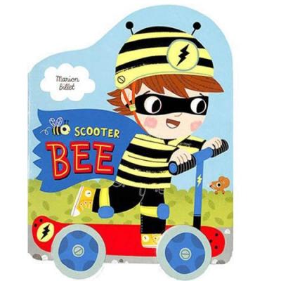 Scooter Bee 蜜蜂男孩出任務輪子轉轉硬頁書
