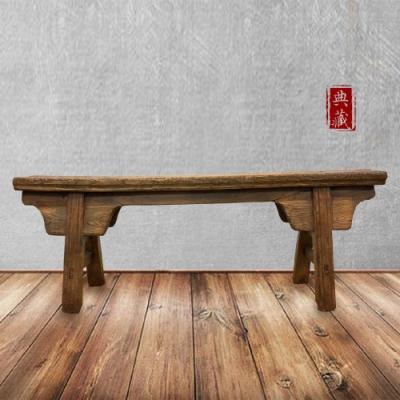 [E-home]文藝復興實木長板凳001