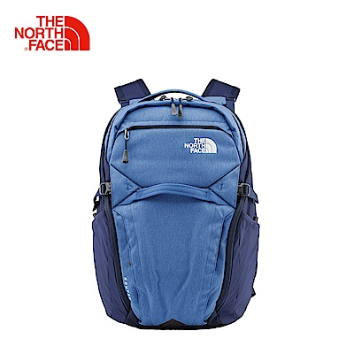 The North Face北面男女款藍色舒適防護休閒後背包 3ETU9QQ