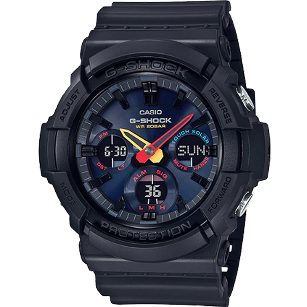 CASIO G-SHOCK 東京搖滾運動錶(GAS-100BMC-1A) product image 1