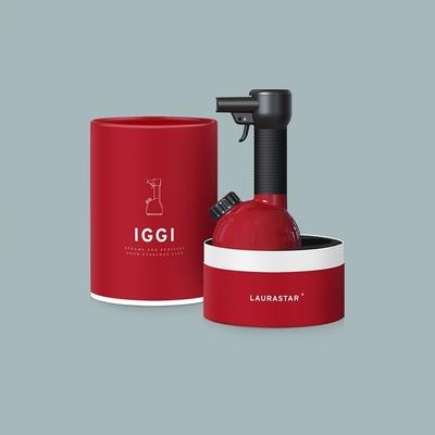 【滅菌神器】LAURASTAR IGGI 手持蒸汽掛燙機(紅)