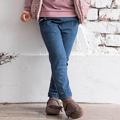 PIPPY 童趣針織牛仔褲 藍
