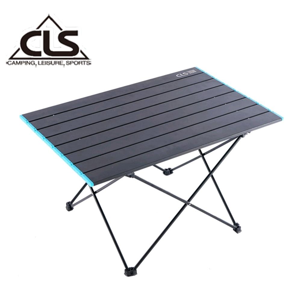 韓國CLS 鋁合金折疊蛋捲桌 摺疊桌 露營桌 登山 野餐 露營(特大型)