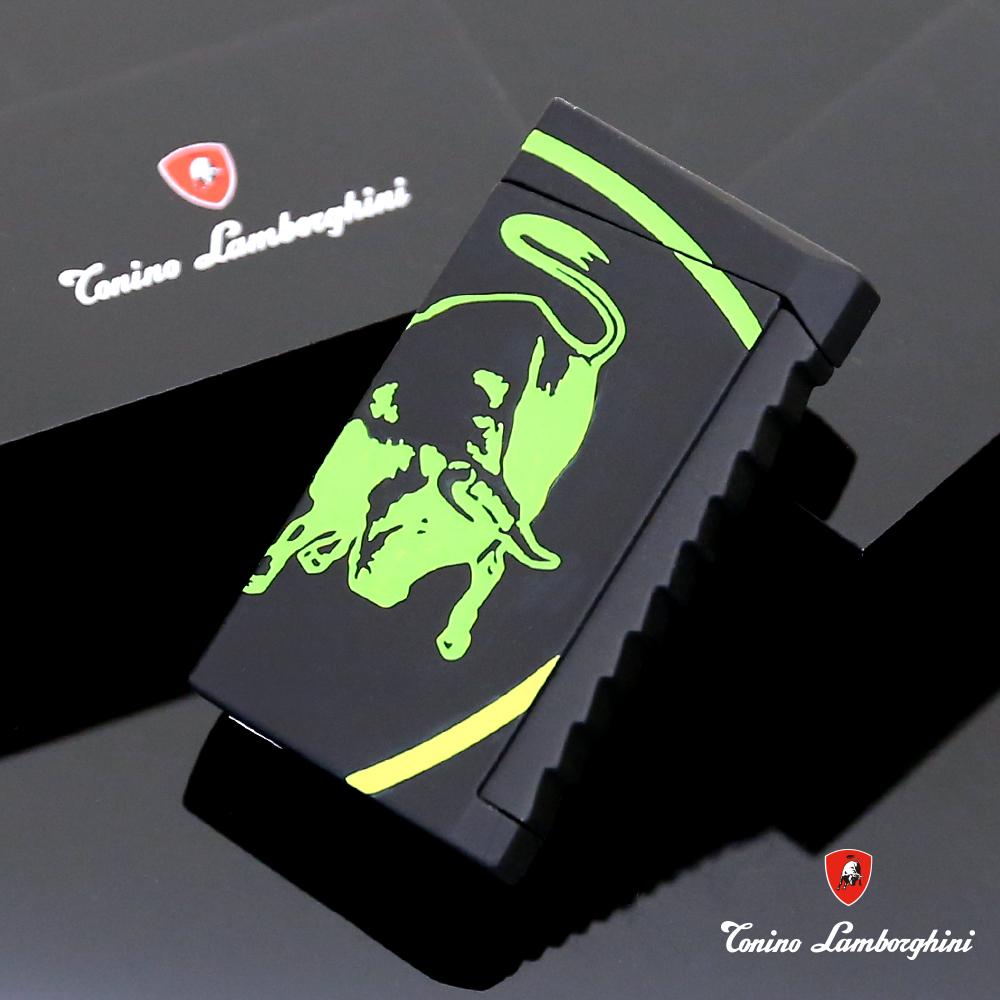 藍寶堅尼Tonino Lamborghini IL TORO LIGHTER打火機(黑綠)
