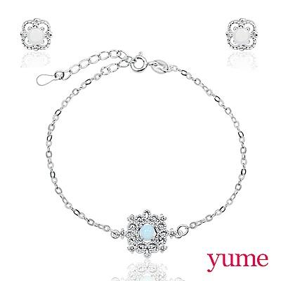 YUME 月光蕾絲手鍊套組(手鍊+耳環)