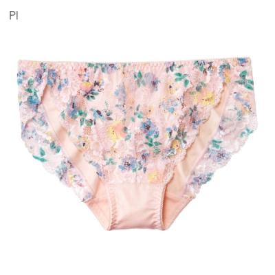 aimerfeel 法式蕾絲無痕內褲-粉紅色-176321-PI