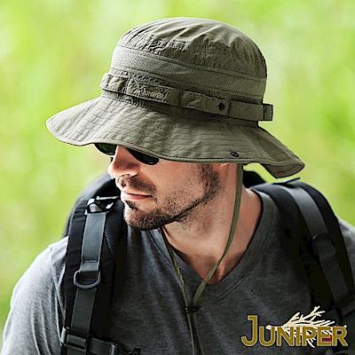 JUNIPER 抗紫外線防UV透氣超大頭圍尺寸遮陽高頂漁夫帽