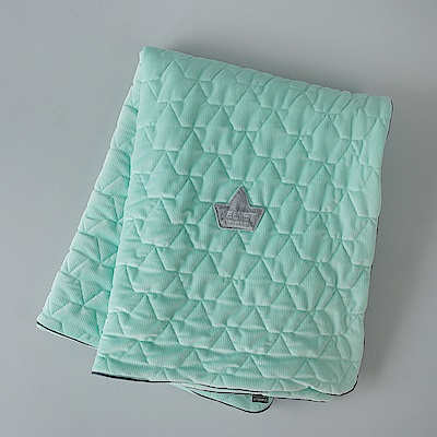 La Millou Velvet頂級棉柔系列-標準款暖膚毯80x100cm(舒柔綠)